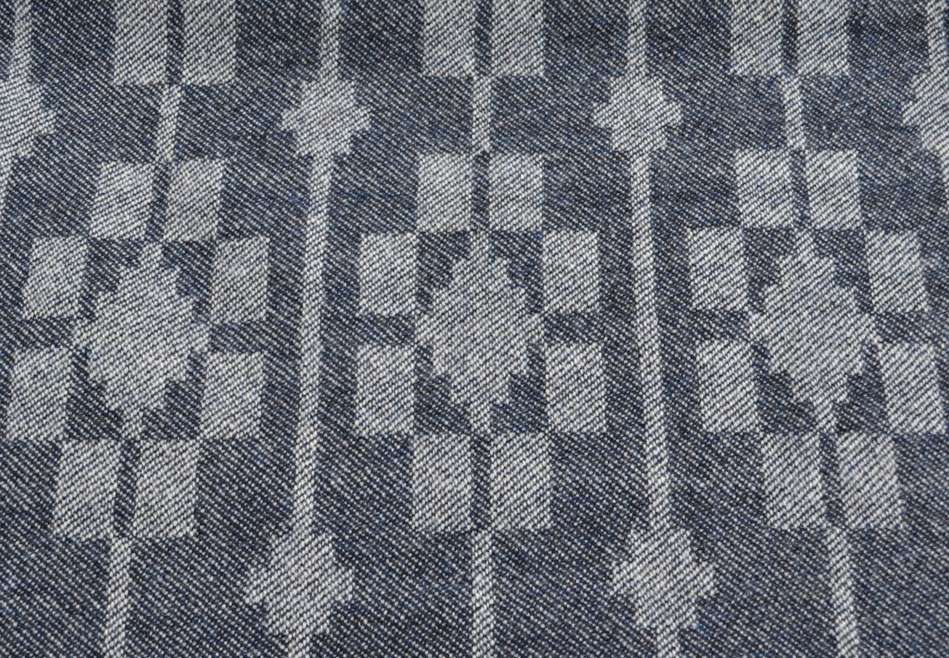 'Dukagang' throw - design in close-up