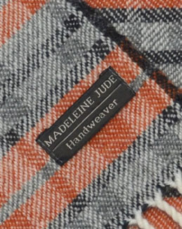 'Dukagang Stripe' throw in close up