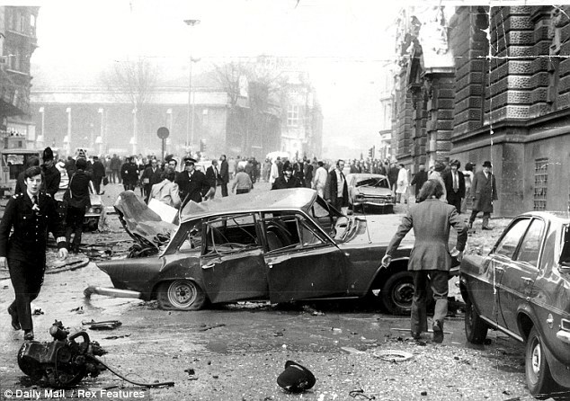Car bombings in London on the 8th March 1973
