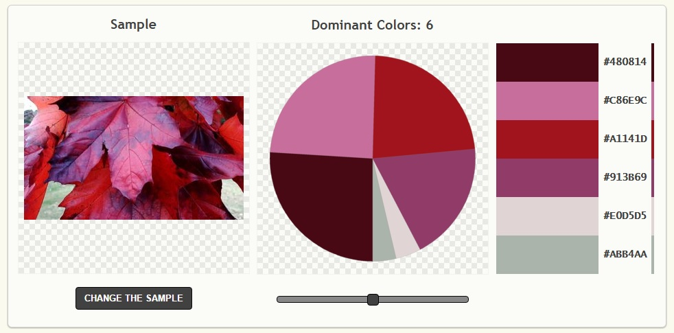Instant colour palettes - this one from palettegenerator.com