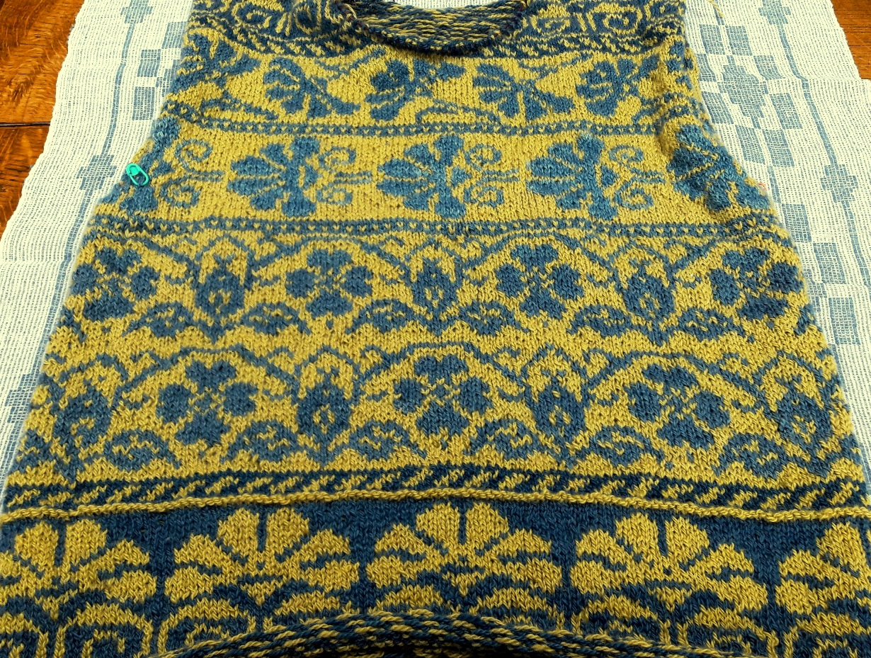 My Russian Jumper in progress