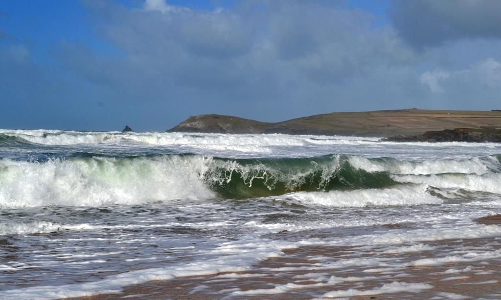 Across the surf to Trevose Head (c) Madeleine Jude Ltd 2017