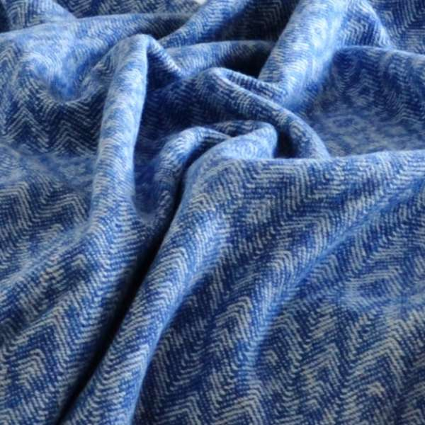Closeup of Keynvor throw - Trevose Head Collection