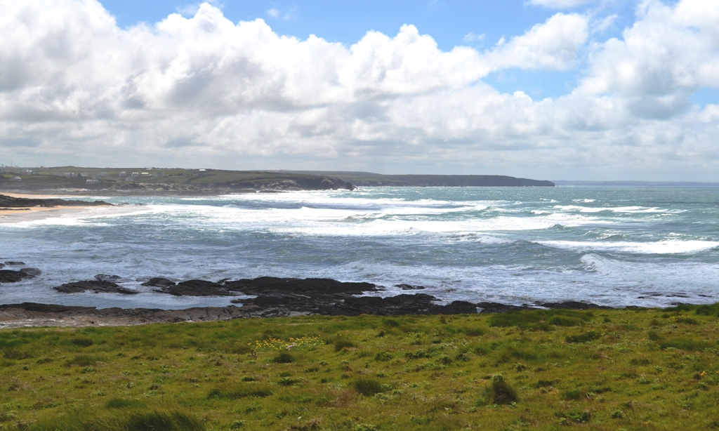 The Cornish sea from Trevose Head (c) Madeleine Jude Ltd 2017
