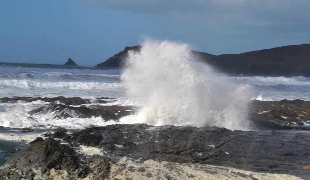 Rough sea at Trevose Head (c) Madeleine Jude Ltd 2017