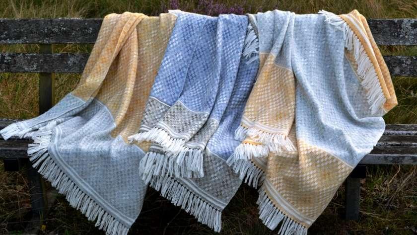 Hardanger Blanket Shawls