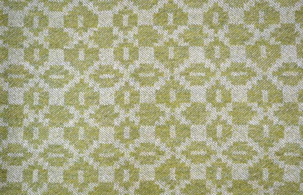 'Moroccan Tiles' design in green