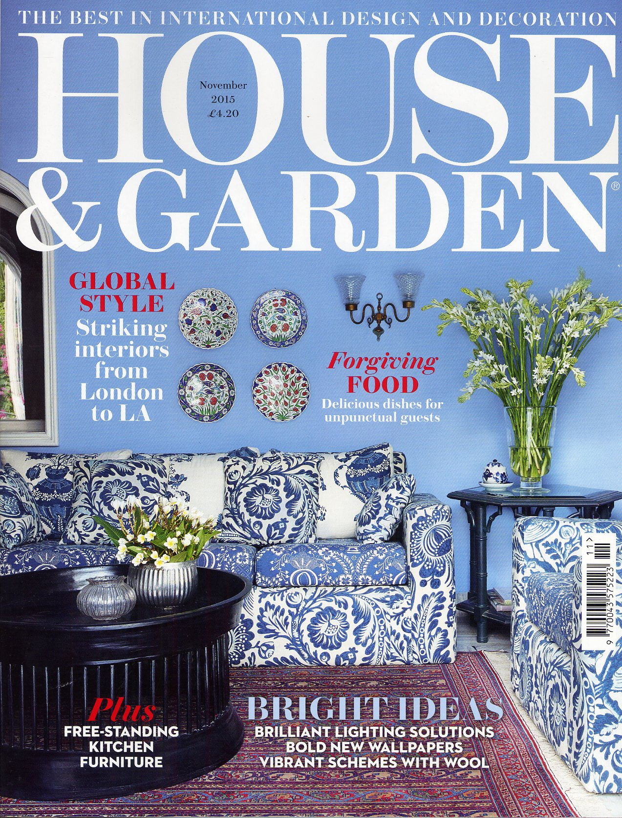 House & Garden magazine press coverage