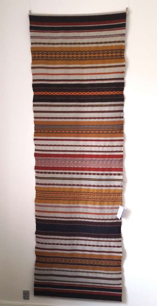 Wallhanging 2 - in natural, ochre and red earth colours