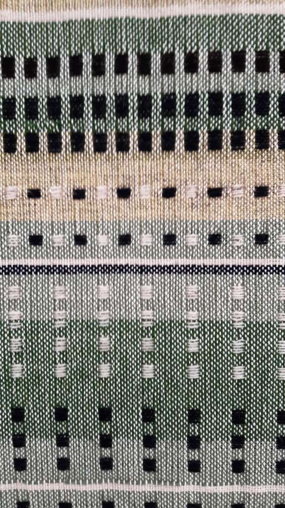 Close up of detail of wallhanging 1