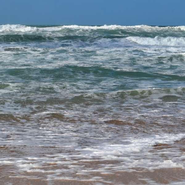 The Cornish sea at Constantine Bay (c) Madeleine Jude Ltd 2017