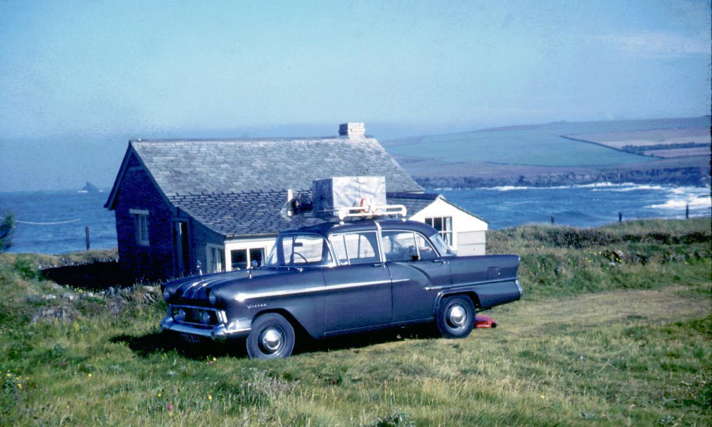 Just arrived at Parsons Hut, 1960's (c) Madeleine Jude Ltd 2017