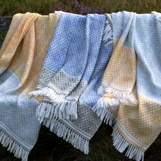 Handwoven Hardangar Blanket Shawls