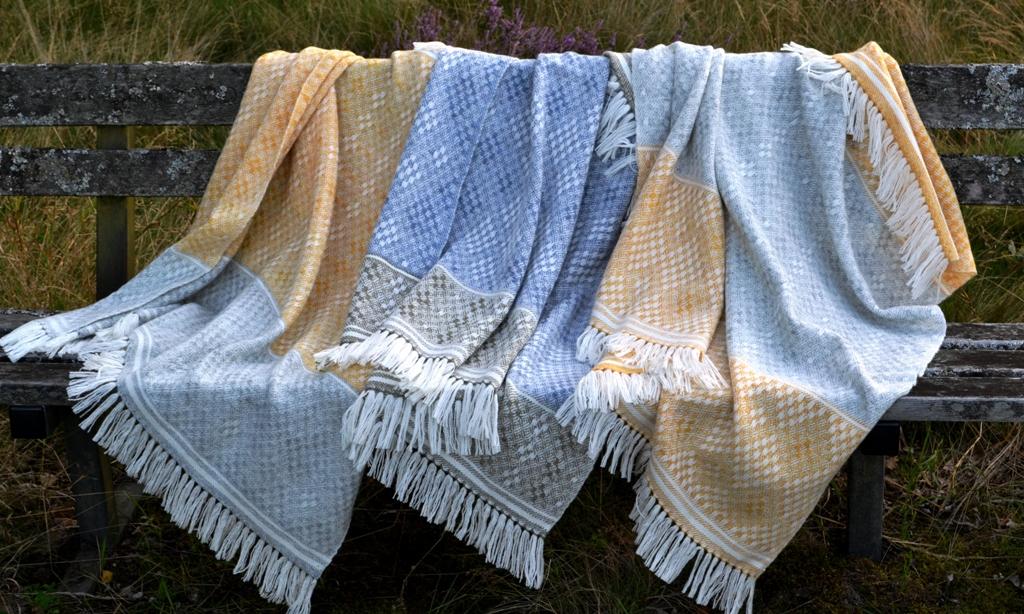 'Hardanger' Blanket Shawls