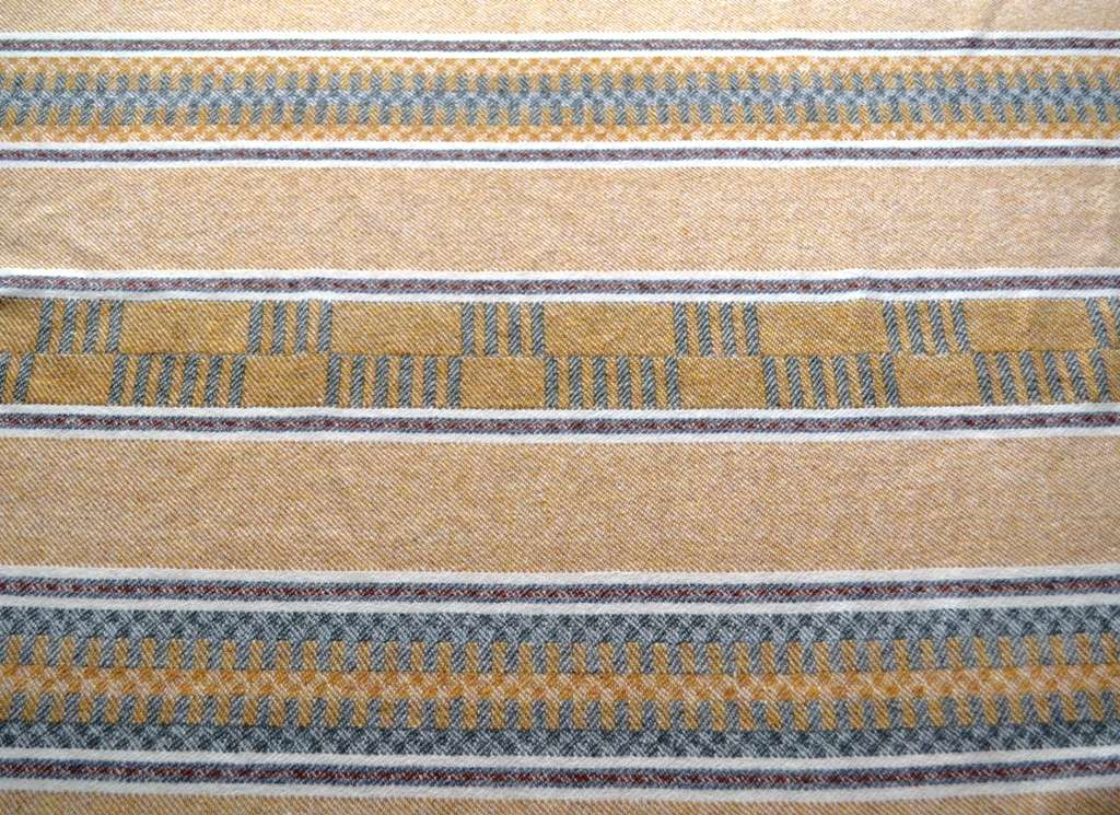 Dubbelbinding throw - reverse side